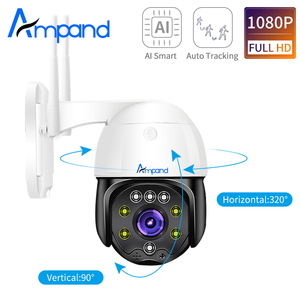 1080P ptz dome camera 2MP ip camera outdoor waterproof Onvif security cctv Two Way Audio Home Surveillance Camera P2P Camhi App