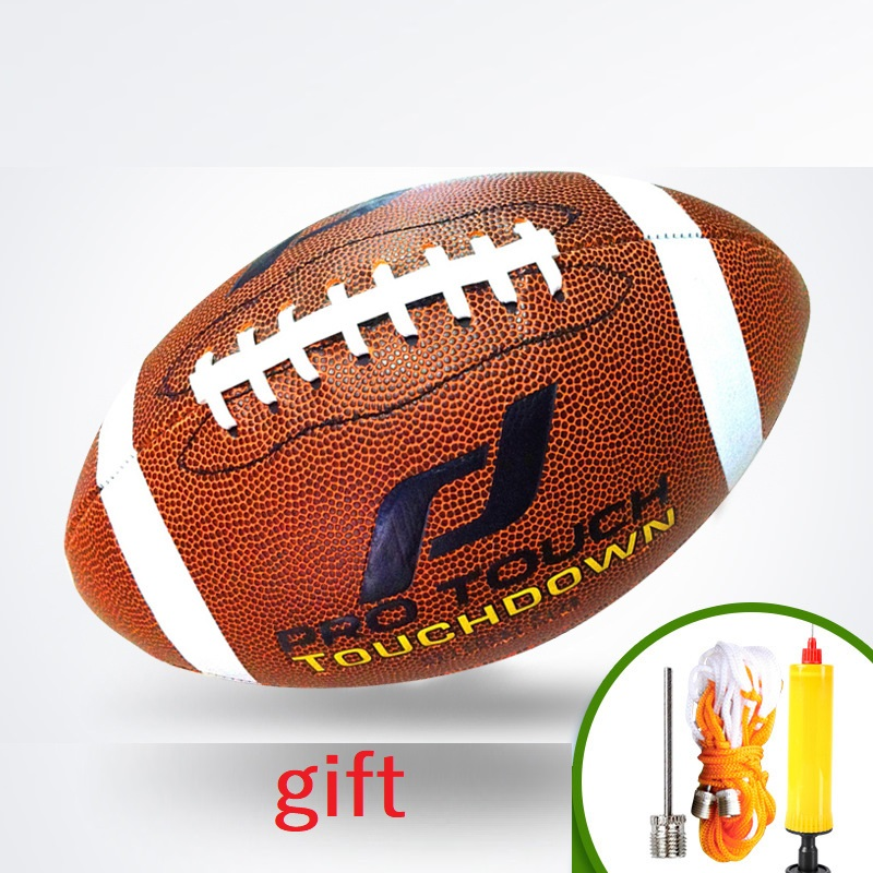 Rugby Ball Size No. 1 American Football Rugby Outdoor Sports Game Ball USA Football College Teenagers Training Ball