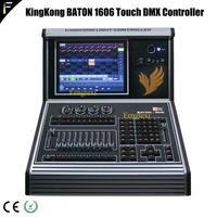 KK-BATON1606 dmx512 2048 채널 12.1 인치 터치 스크린 지능형 컨트롤러 콘솔 무대 조명 쇼 프로그램 세트 컨트롤러