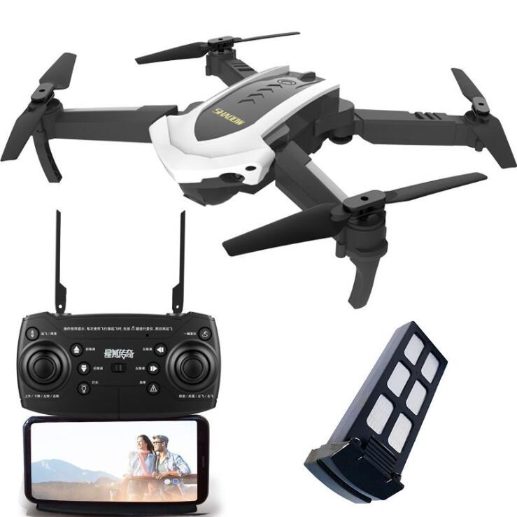 WIFI FPV With Wide Angle HD Camera Two Camera High Hold Mode Foldable Arm RC Quadcopter Drone RTF VS Smart to follow RC plane image