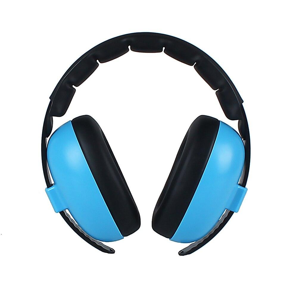Baby Kids Adjustable Headband Padded Ear Protection Noise Canceling Headphone Soft Earmuff  Travel Portable Outdoor Home