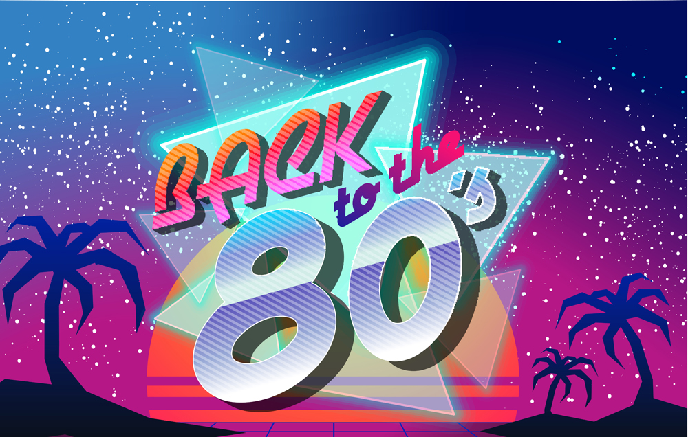 80 S Party Retro Party Backdrop Music Birthday Dancing Punk Banner Photo Studio Background Graffiti Glow 80s Hip Hop Rock Poster Background Aliexpress