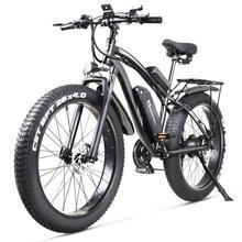 חשמלי אופני 1000W חשמלי שומן אופני חוף אופני קרוזר חשמלי אופניים 48v17ah ליתיום סוללה ebike חשמלי אופני הרים