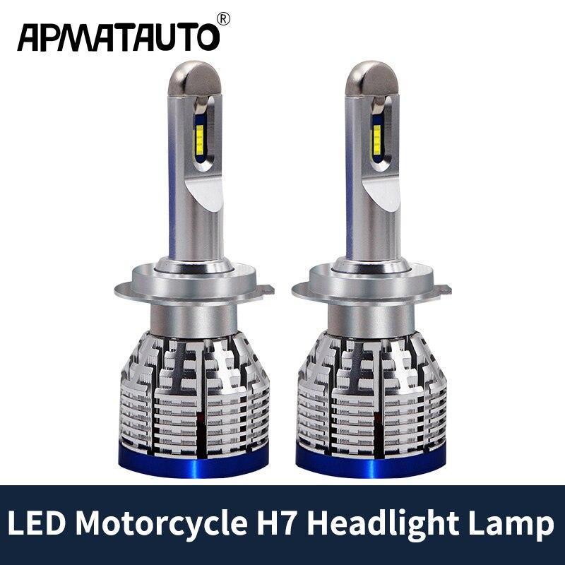 Motorcycle H7 Headlight Bulbs LED Lamp For Suzuki GSXR 600 750 GSXS 1000F ABS DL650A DL1000 V Strom GSX1300R Hayabusa 2012 2017|  - title=