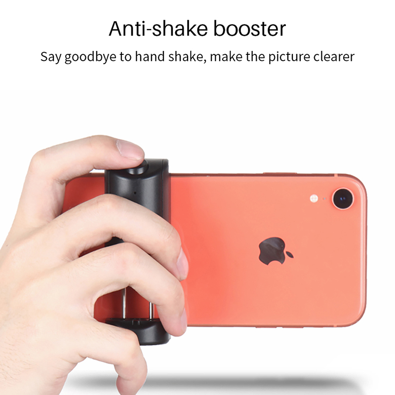 Yunteng Bluetooth Selfie Booster Handle Grip Anti-Shake Phone Stabilizer Holder with Remote Shutter for iPhone Android