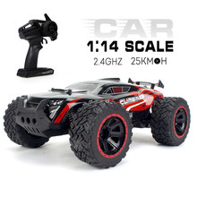 KY-2011A 1/14 Grote Voet RC Crawler RC Off-road Auto 2.4G 2WD RC Truck High Speed Lichtgewicht RC auto Speelgoed Cadeau voor Kids Volwassenen RTR(China)