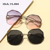 Fashion Tea Gradient Sunglasses UV400 1