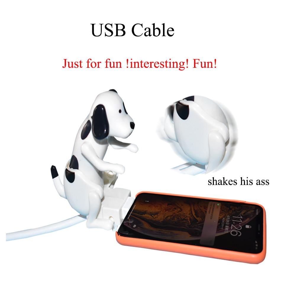 Интересный USB-кабель, зарядный кабель для собак, USB-кабель для быстрой зарядки для iPhone, Xiaomi, Samsung, Huawei ,Android, Type-c, Apple, iphone