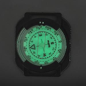 Image 3 - Boussole extérieure montre professionnelle plongée étanche navigateur numérique montre tactique boussole de plongée pour la natation sous marine 60M