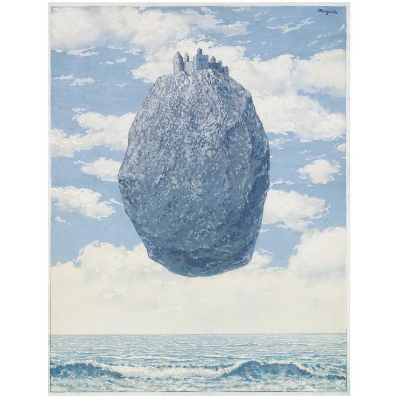 Rene Magritte 아트 포스터 및 인쇄 추상 초상화 벽 아트 아트웍 캔버스 인쇄 그림 노르딕 홈 장식 그림