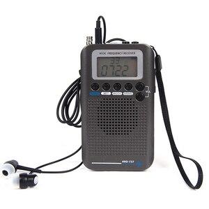 Image 1 - Самолет Полнодиапазонный VHF радио портативный FM AM SW радио VHF CB 30 223 МГц 25 28 МГц Air 118 138 МГц с двойным будильником