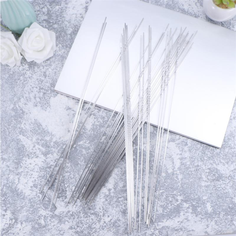 WINOMO 50pcs Aluminum Welding Electrodes Flux Cored Low Temperature Brazing Wire Air Condition Repairing Welding Rods