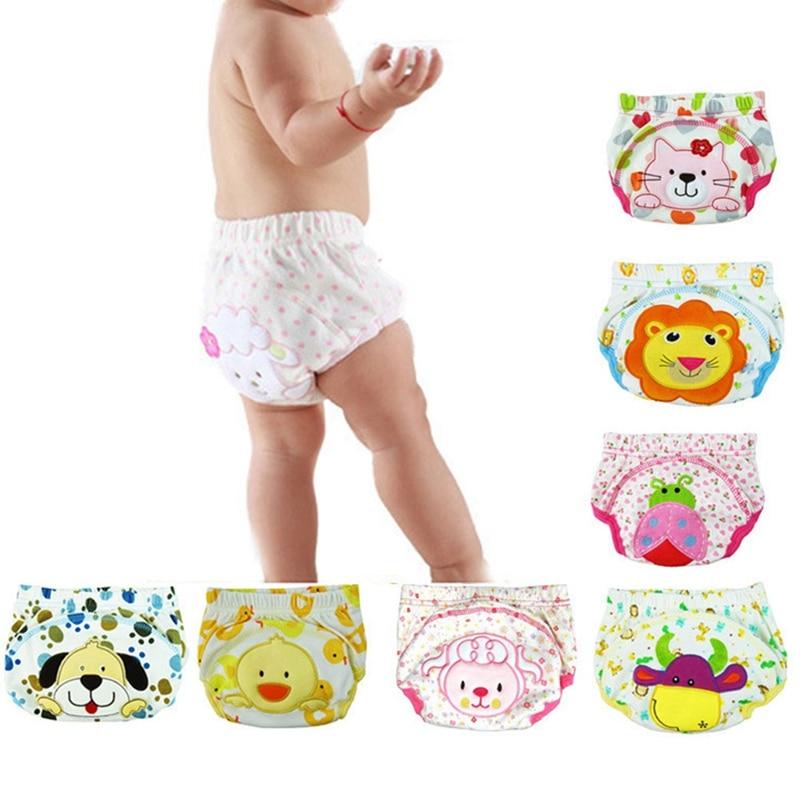 Baby Boy Children Cartoon Potty Briefs Newborn Panties 80 90 100CM Training Pants Cotton Leak-proof Diapers Underwear