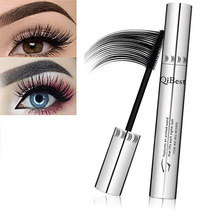 Natural 3D Mascara Fiber Waterproof Black Mascara Eyelash Long Curling Lashes Extension Makeup Fluffy Volume Makeup Gift TSLM2