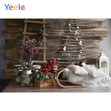 Christmas Backdrop Tree Wood House Newborn Baby Birthday Party Photography Background For Photo Studio Photocall Photophone