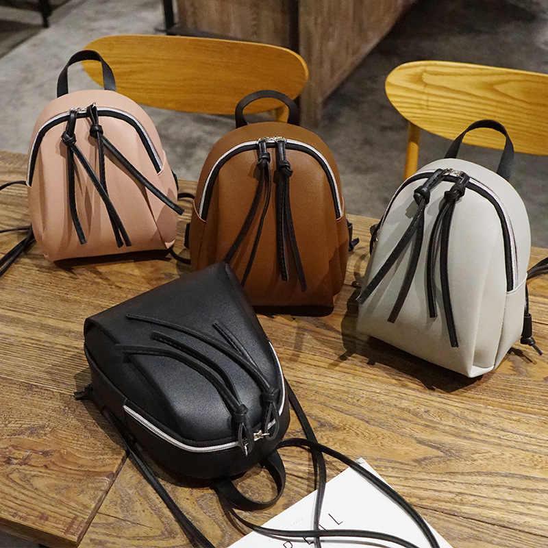 2020 nova senhora pequena mochila feminina bolsa de ombro couro multifuncional mini mochilas saco bagpack escola feminina para adolescentes grils