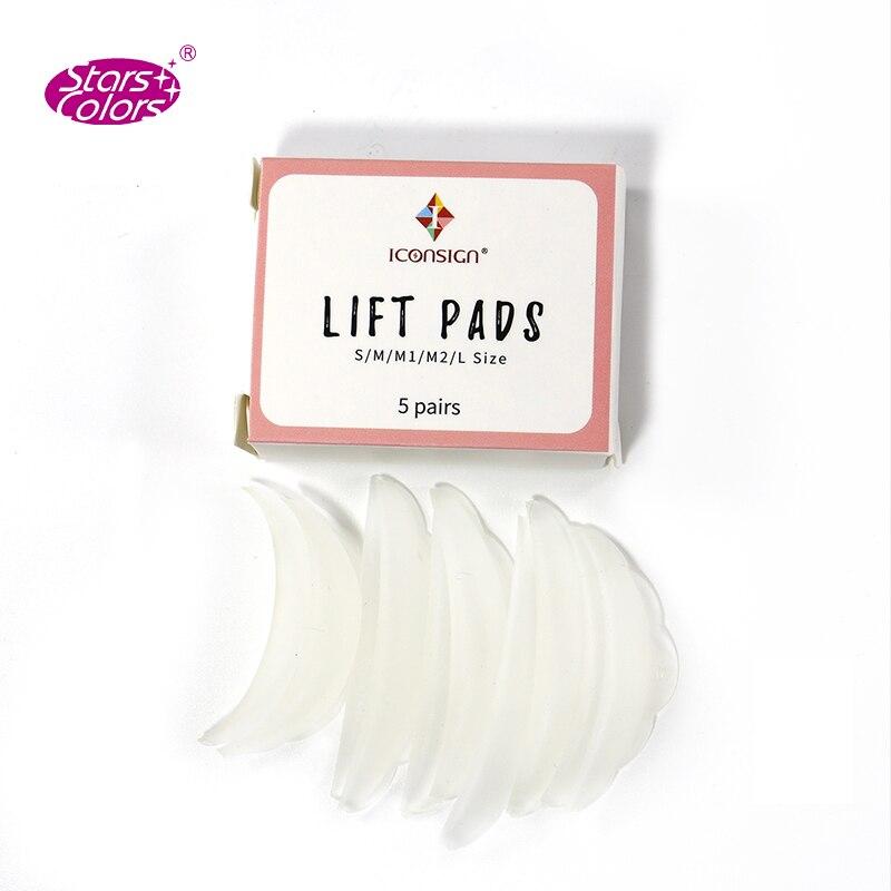 5 Sets/lot Mini Eyelash Perm Kit lashes lifting Cilia Lash Lift Kit Eyelash Growth Serum Makeup Beauty Lash Lift Tool