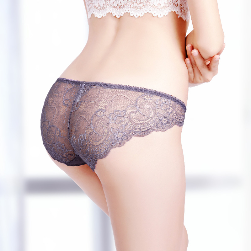 Women Sexy Lace Women's Panties Transparent Briefs Seamless Panties Lingerie Women Female Pants