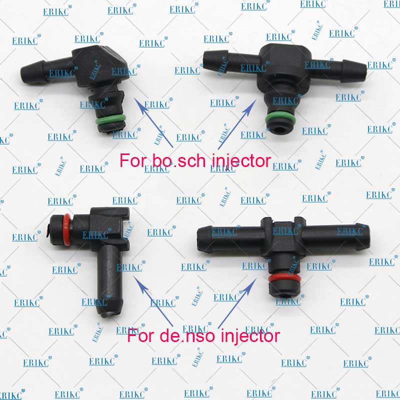 10PCS Return Oil Backflow Joint Pipe T and L Type for Bosch Denso Diesel Injector Plastic Connector Pipe Hose Joiner Tube Fuel