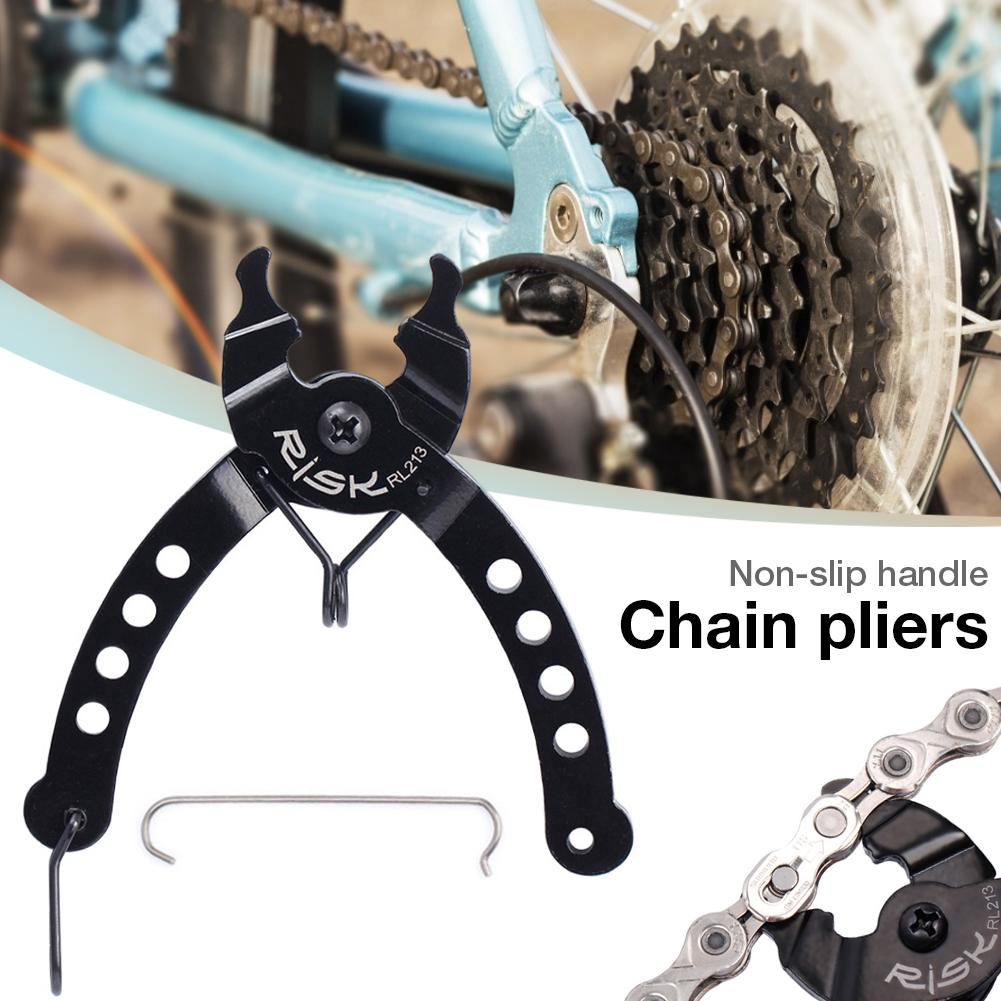 Bike Chain Master Link Plier Missing Link Opener Closer Remover Cadena Plier Bicycle Bike Chain Quick Link Button Repair Tool