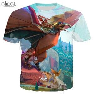 Image 5 - CLOOCL פופולרי משחק T חולצת גברים/נשים 3D מודפס T חולצות מקרית סגנון גיבור עור חולצה Streetwear סוודרי T321