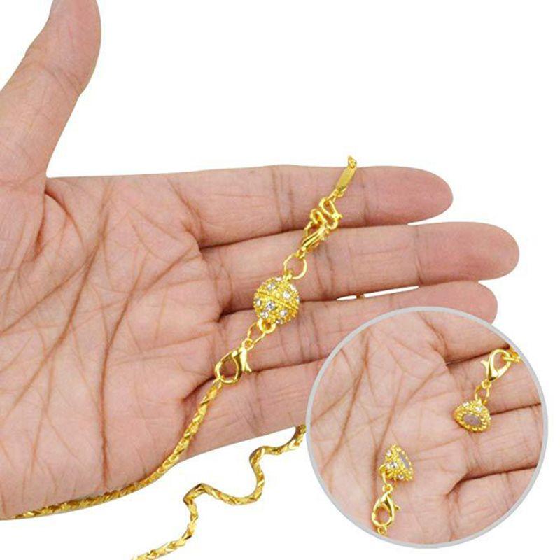 39,5x57,5 мм Клевер на удачу кольцо с Цирконом стерлингового серебра 925 кулон Разъем Шарм DIY жемчужные ювелирные изделия фурнитура для аксессуар... - 2