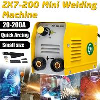 AC 110V ZX7 200 miniGB 200A Mini Electric Welding Machine IGBT DC Inverter ARC MMA Stick Welder