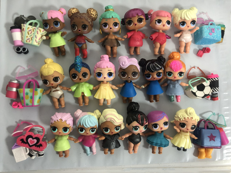 L.O.L. SURPRISE! Original Action Figures Cartoon Full Set Toys Anime For Children Gifts Lol Doll Baby For Kid Girl Collection