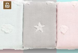 Image 5 - 2 adet/torba Youpin ZSH havlu çocuk serisi bebek özel yıkama pamuk yumuşak çocuklar için okul ev bebek havlusu