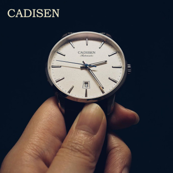 CADISEN Mens Watches Top Brand Luxury Business Mechanical Automatic Watch Men Sport NH35 Watch Movement Clocks relogio masculino cadisen men automatic mechanical watch top luxury brand seiko nh35a movement stainless steel 50m waterproof curved glass watch