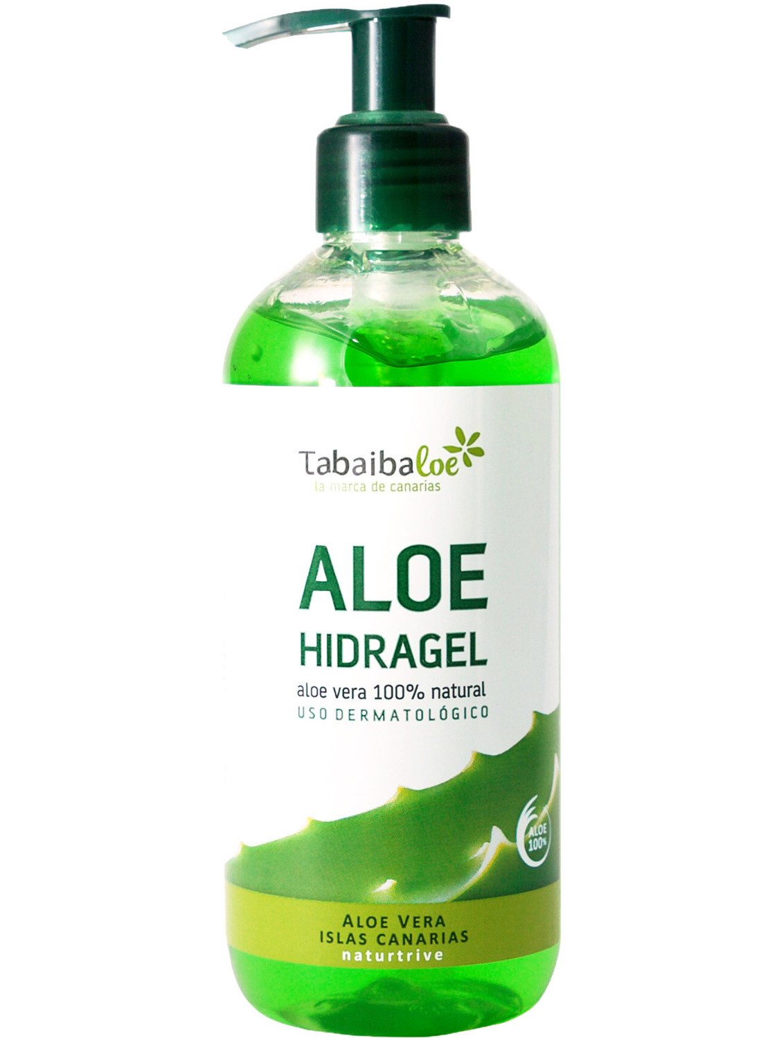 Aloe Vera Gel 100% Natural Hidragel Tabaiba Moisturizing 300 Ml
