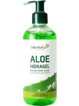 Gel D'aloe Vera 100% Naturel Hidragel Tabaiba Hydratant 300 Ml