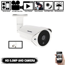 Камера видеонаблюдения ninivision 5 МП ahd объектив 36 мм 6