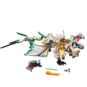 2019 Ninja Mirage Ultimate dragón Complex Compatible legoing nonjagoes 70679 bloques de construcción juguetes acción figuras de juguetes para regalar