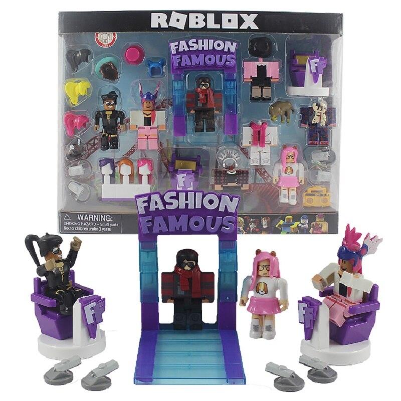 Conjuntos 18 Robloxs Figura jugetes Robloxs 7 centímetros Jogo PVC Figuras Meninos Brinquedos para roblox-jogo