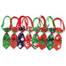 Accessoires de noël pour chiens et chats, 100 pièces, nœuds papillon pour chiens et chats, accessoires de noël pour chiots et chiots