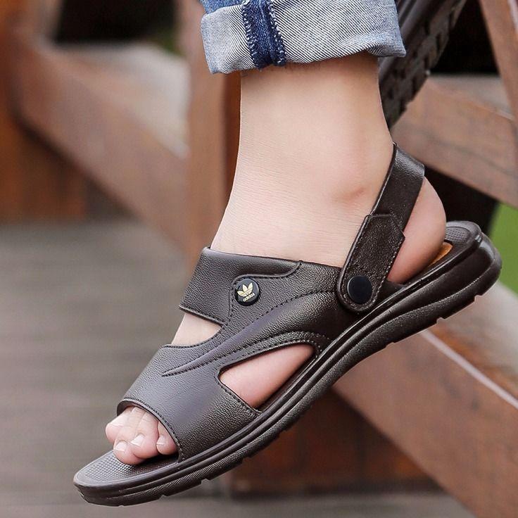 Men's  Sandals For Men Wearing Sandals In Summer 2019 S2nlxPa