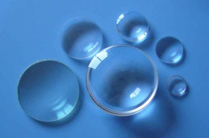 Fused Quartz Plano-convex Lens D12.7mm Focal Length F25/35/50/75/100/200/300/500/1000