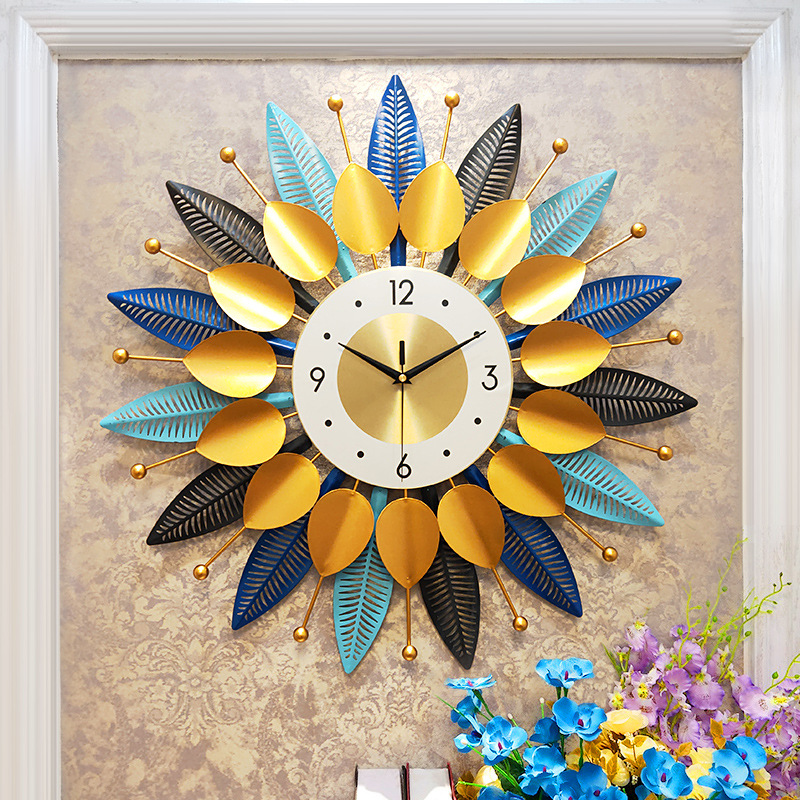 Modern luxury watch Living room home fashion creativity Bedroom Personalized art silent wall decoration clock wall clock