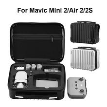 Custodia rigida per custodia rigida per Mavic Mini 2/Air 2/Air 2S custodia protettiva impermeabile custodia per DJI Mavic Mini 2 borsa