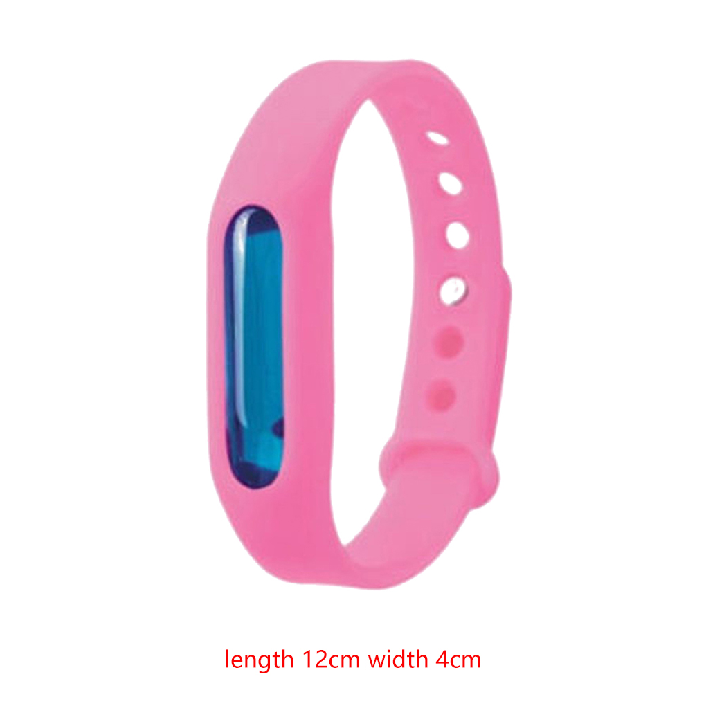 Mosquito Repellent Bracelet Silicone Capsule Pest Insect Bugs Control Anti-Mosquito Wristband Kids Mosquito Killer