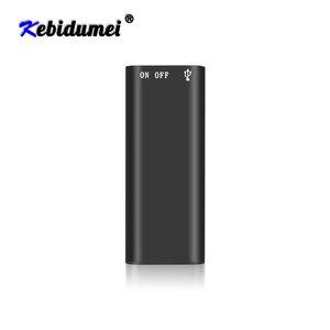 Image 1 - Kebidumei 8G Mini Âm Thanh Kỹ Thuật Số Máy Ghi Âm Dictaphone Stereo MP3 Nghe Nhạc 3 Trong 1 8GB Bộ Nhớ Lưu Trữ Ổ Đĩa Flash USB Ổ