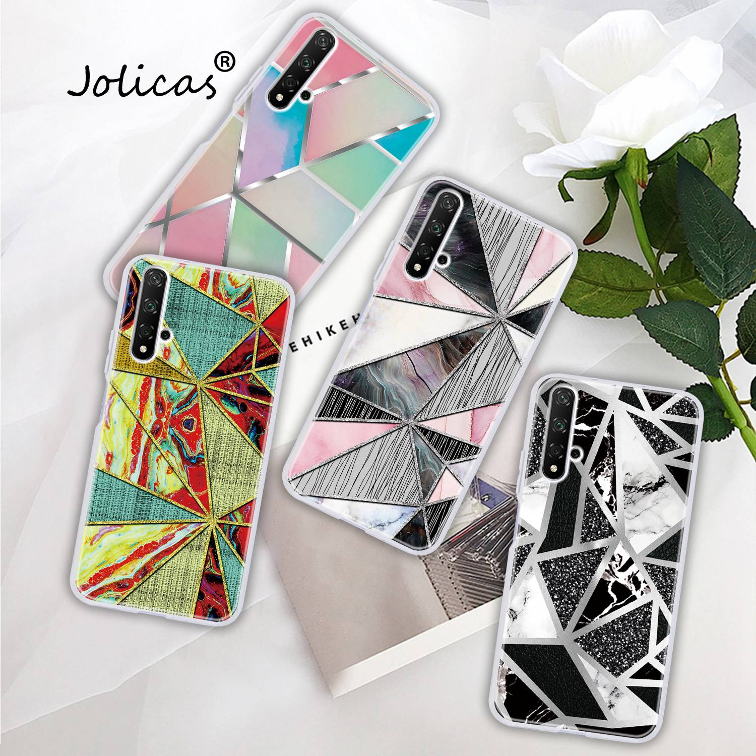 <font><b>Silicone</b></font> Cover For Huawei <font><b>Honor</b></font> 8X sFor Huawei etui <font><b>Honor</b></font> 20 9X Pro P Smart Plus 2019 7C <font><b>Case</b></font> 20i Lite <font><b>7S</b></font> 20S 10 8S Z 8A Fundas image