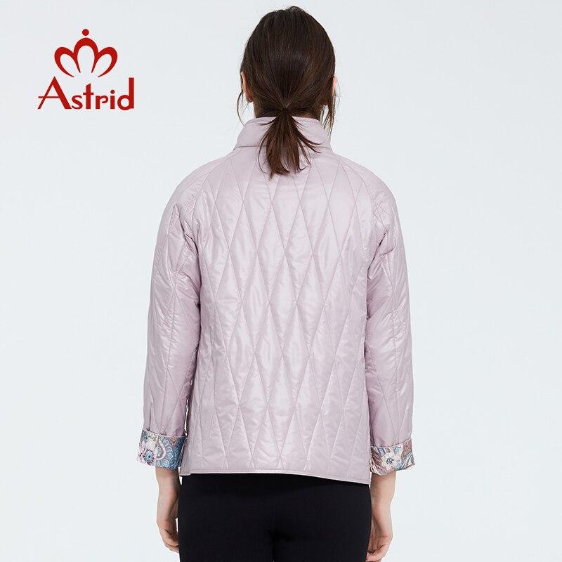 Astrid 2020 nueva moda de primavera abrigo corto para mujer cuello alto prendas de vestir femeninas de alta calidad tendencia urbana chaqueta delgada ZM-9423 - 3