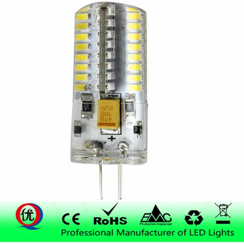 3W 5 Вт, 9 Вт, 12 Вт, 15 Вт 21 SMD3014 G4 светодиодный светильник AC/DC 12 V/AC 220V силиконовые лампы 24/48/64/104/152 светодиодный s заменить 20 Вт-100 W галогенные лампы светильник