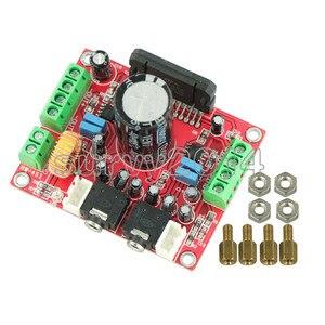 Image 4 - XH M150 TDA7850 4*50W araba ses güç amplifikatörü modülü BA3121 gürültü azaltma modülü amplifikatör kurulu DC 12V