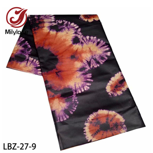Image 5 - Latest Basin Riche Getzner High Quality Polyester Cotton Bazin Riche Senegal Guinea Brocade Fabric for Women Man Clothes LBZ 27