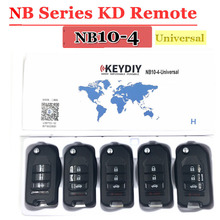 Free shipping (5cs/lot))NB10 Universal Multi functional kd remote 3+1 button NB series key for KD900 URG200 remote Master