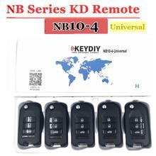 Livraison gratuite (5cs/lot))NB10 télécommande universelle multifonction kd 3 + 1 bouton clé série NB pour KD900 URG200 remote Master
