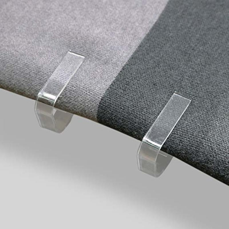 4pcs Plastic Table Cloth Cover Clip Clamp Holder 1cm-3cm Thickness